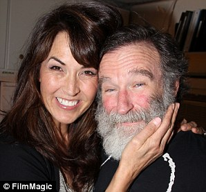 Susan Schneider and husband Robin Williams