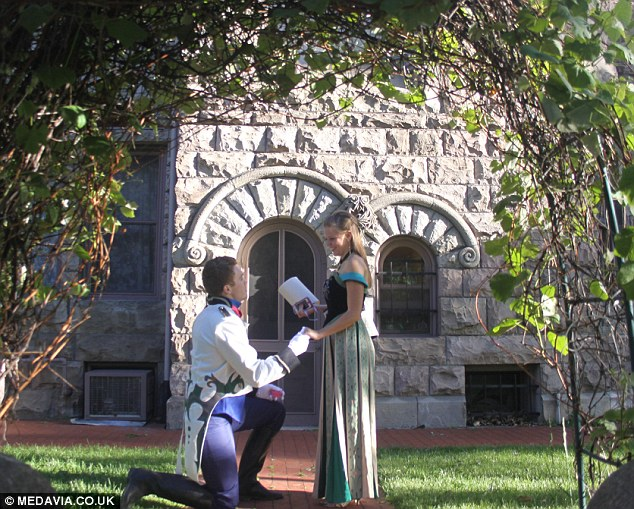 Frozen Themed Marriage Proposal Makes Bride's Heart Melt