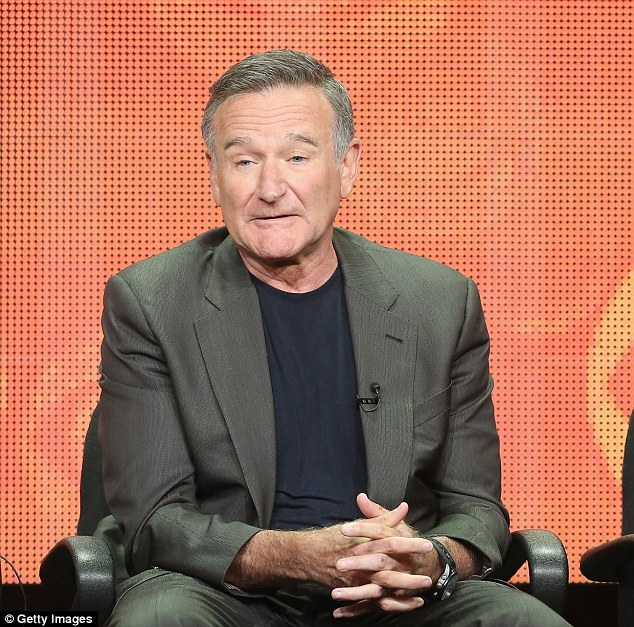Tragic: Troubled actor Robin Williams was found dead with a belt wrapped around his neck about 11.55am in his bedroom - at least 12 hours after he had killed himself