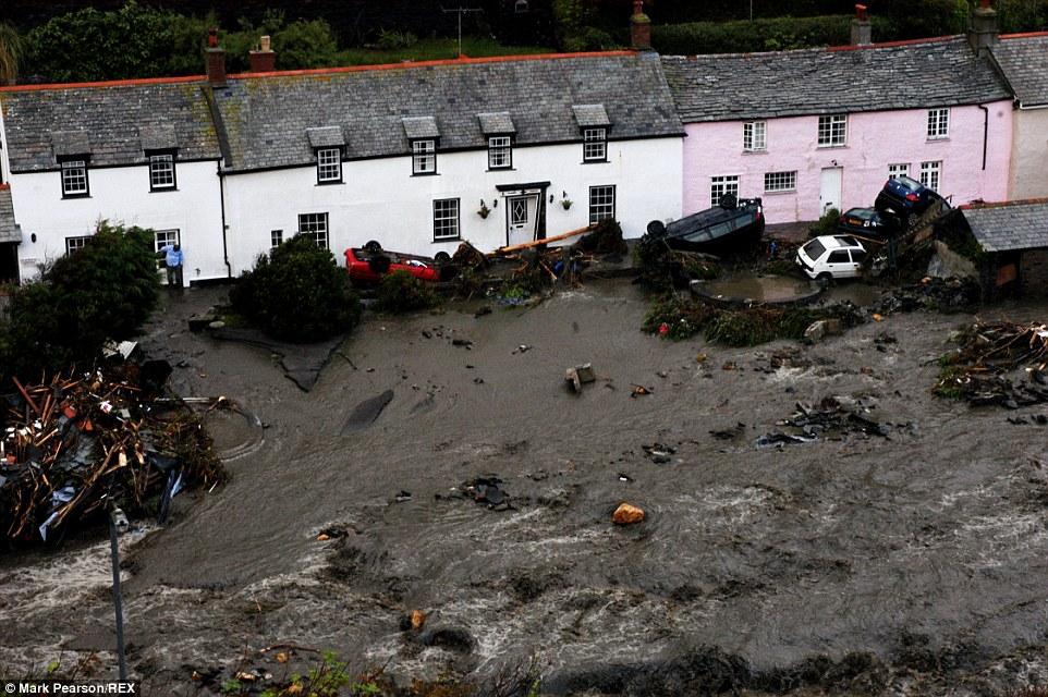 Boscastle Flood 2004