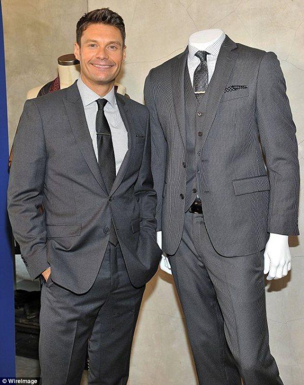Want your boyfriend to dress like Ryan Seacrest TV