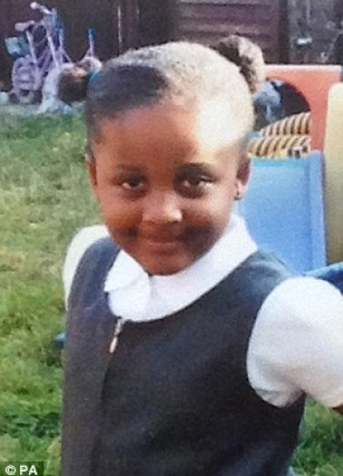 Tragedy:Bolutito Shodipe was hit and killed as her mother parked her car yesterday