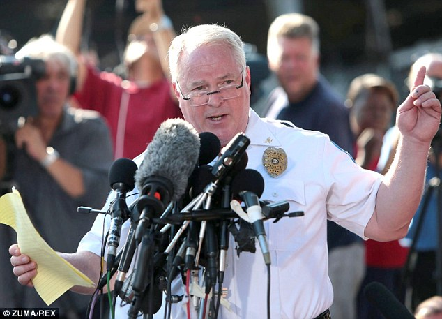 Police chief Thomas Jackson held a second press conference on Friday and admitted that the officer who shot Michael Brown did not know he was the suspect in a robbery