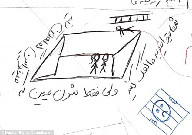 Shocking drawings done by a child emerge from Nauru