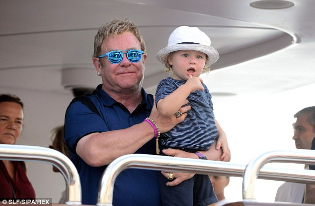 Father And His Son Elton John