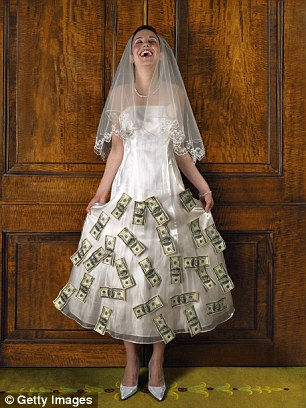 The Tricks Money Grabbing Brides Are Using To Bleed Guests Dry Daily Mail Online