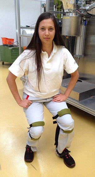 Exoskeleton is the invisible chairless chair that lets