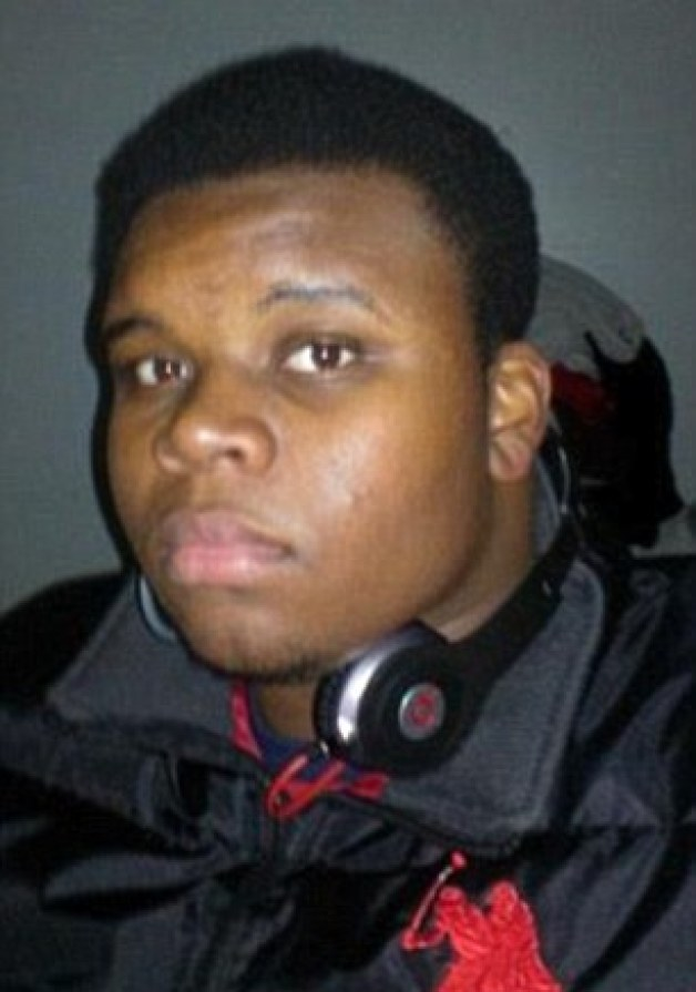 Aspiring rapper Brown was preparing to start college before he was shot dead in the street by a white police officer