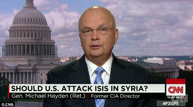 Former CIA chief Michael Hayden said Sunday that ISIS has global ambitions and will certainly mount attacks against the West