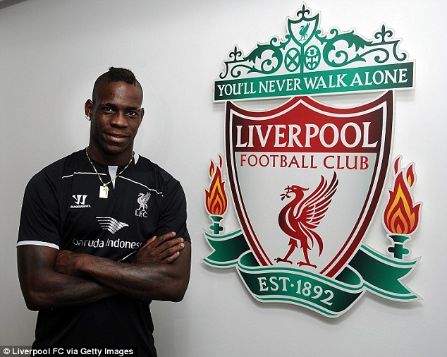 Talent: Liverpool manager Brendan Rodgers believes Balotelli is world class and can thrive at Liverpool