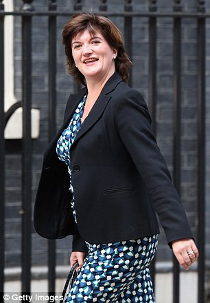 Nicky Morgan has responsibility for countering domestic violence in the Cabinet