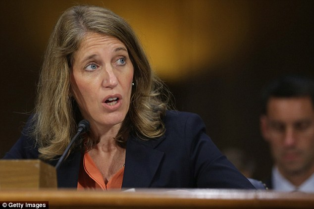 Trouble: Sylvia Matthews Burwell, the newly minted HHS secretary, now has a new PR headache to add to her already heaving pile of Obamacare woes