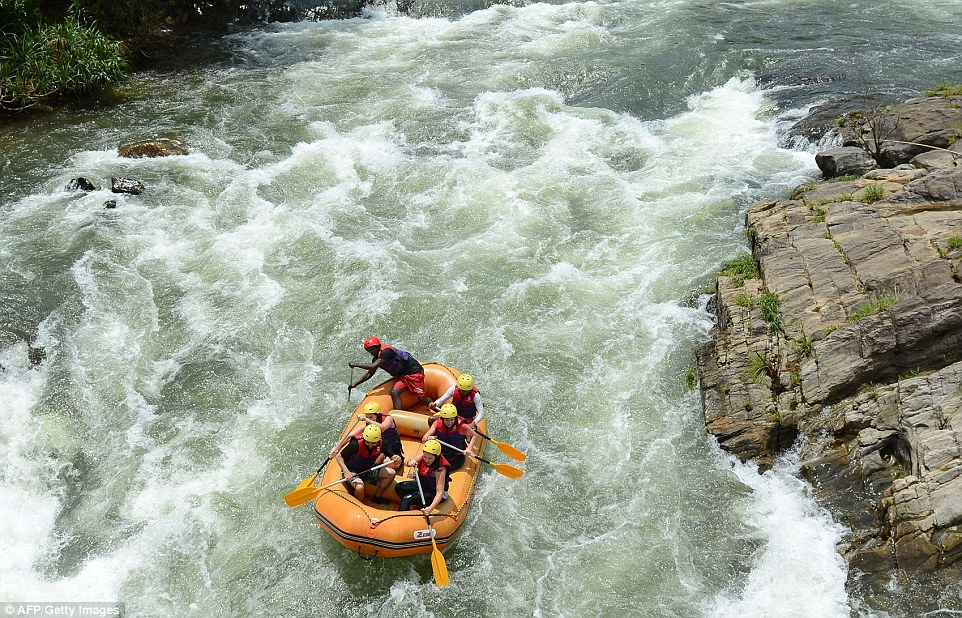 The area is popular with adrenalin-seeking travellers who take to the river for white water rafting, an important business for locals
