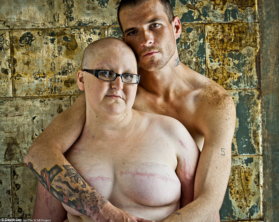Jay is an international fashion photographer based in New York and his friend Pauline (not pictured) was diagnosed with breast cancer and had a mastectomy just two weeks after she found out