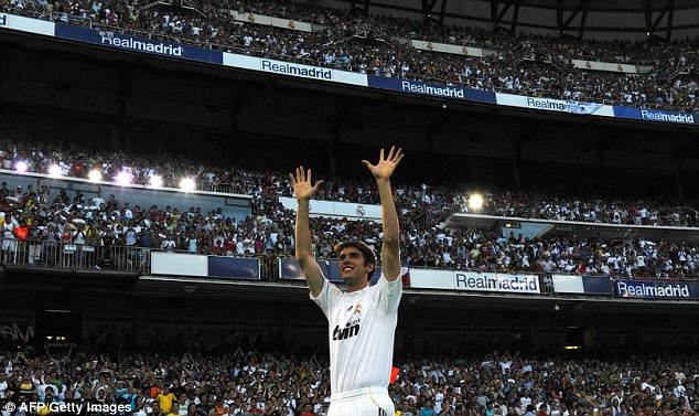 Hit and miss: Kaka joined Real Madrid with huge expectations but the playmaker never reached that billing