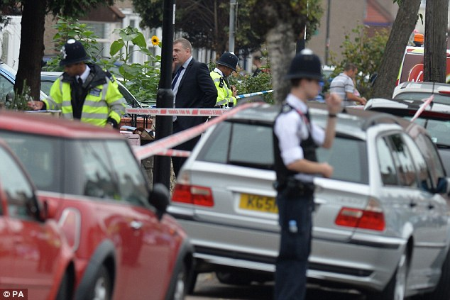 DCI John Sandlin, who is leading this investigation, said: 'This is was a highly visible attack in broad daylight on a residential street'