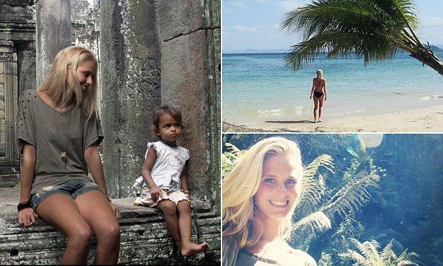 Zilla Van Den Born Boasts Of Trekking In Asia Using Photos