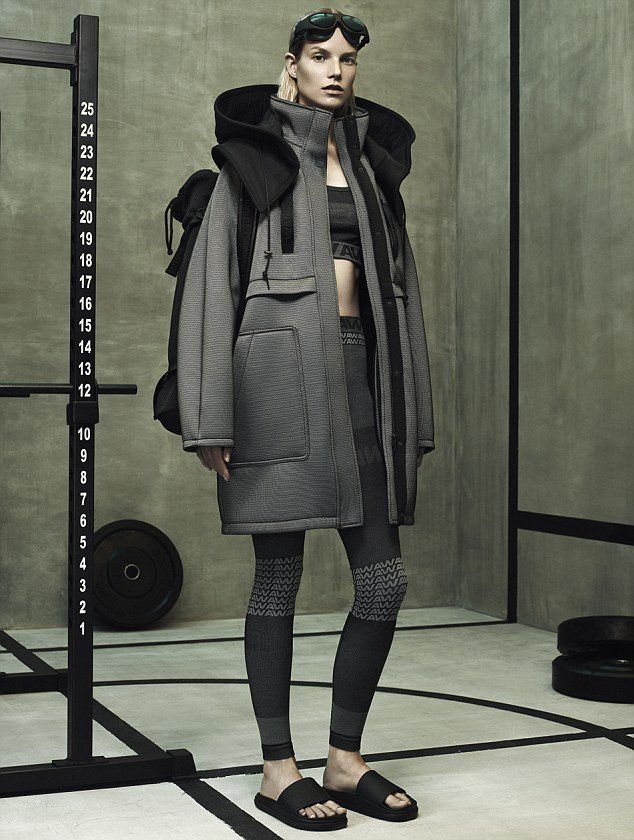 Alexander Wang X H&m Pictures Released After Rihanna Is
