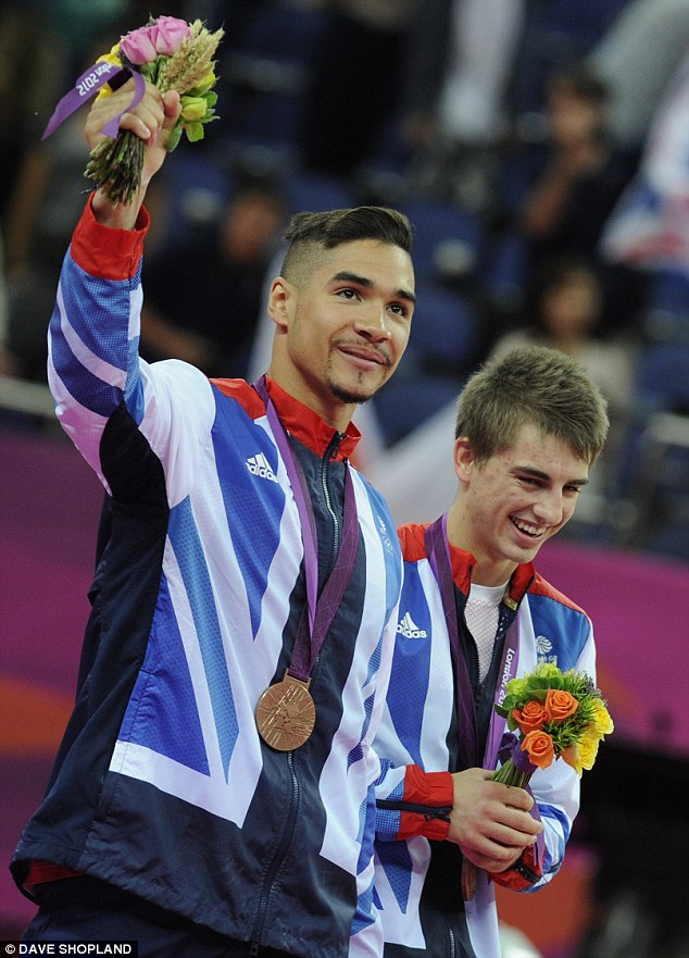 London 2012 icon: Louis Smith | ozara gossp