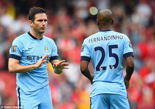Frank Lampard of Manchester City