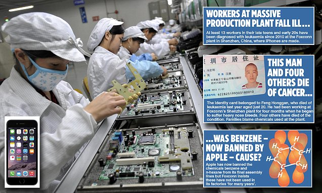 Mystery of the cancer cluster killing Chinese workers at