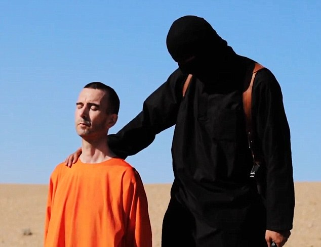 The beheading of British hostage, David Haines | ozara gossip