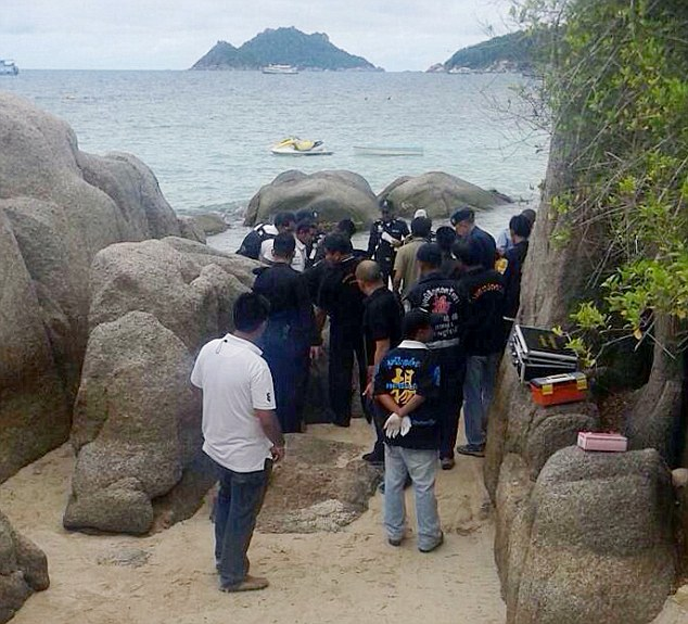 British tourists, woman raped and murdered in Thai Beach - ozara gossip