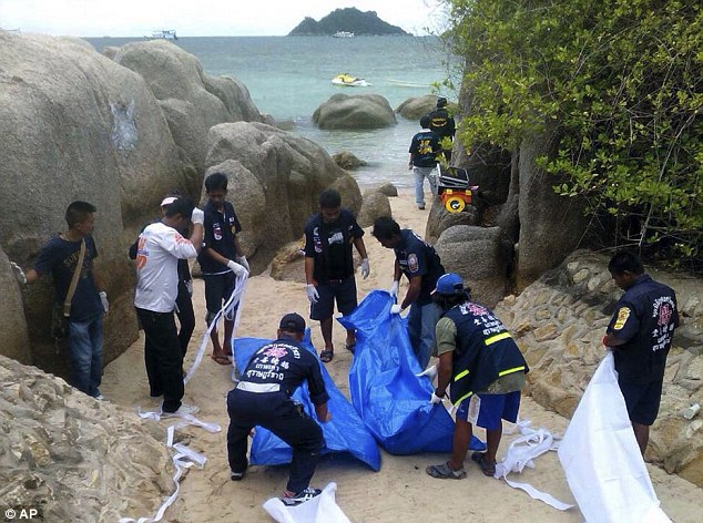 British tourists, woman raped and murdered in Thai Beach | ozara gossip