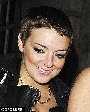 Sheridan Smith Debuts Pixie Cut At LFWeek As She Wins