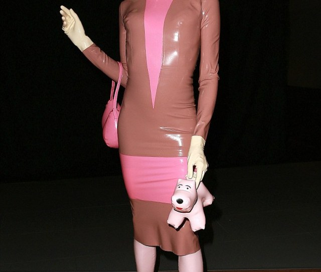Unlikely Fashion Icon The Latex Doll Has Become A Lfw Regular Over The Last Few