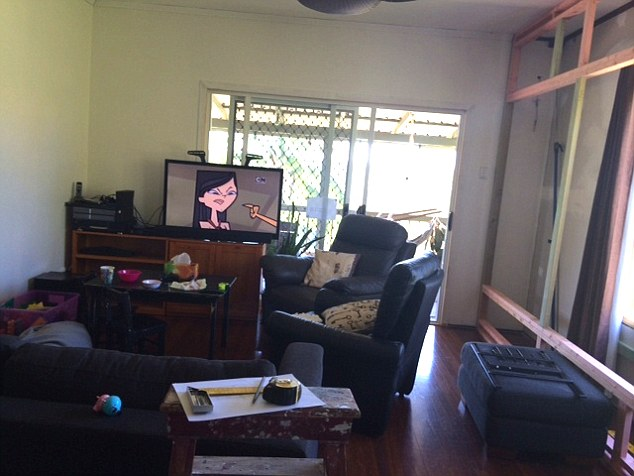 how to make mismatched living room furniture work ikea small chairs do you have an one of australias ugliest rooms daily mail this crowded around a television in queensland put space the running for