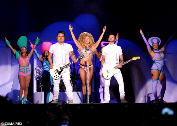'Ready to rave?' Lady Gaga will bring her ArtRave: The Artpop Ball to the city's Olympic Stadium this Friday