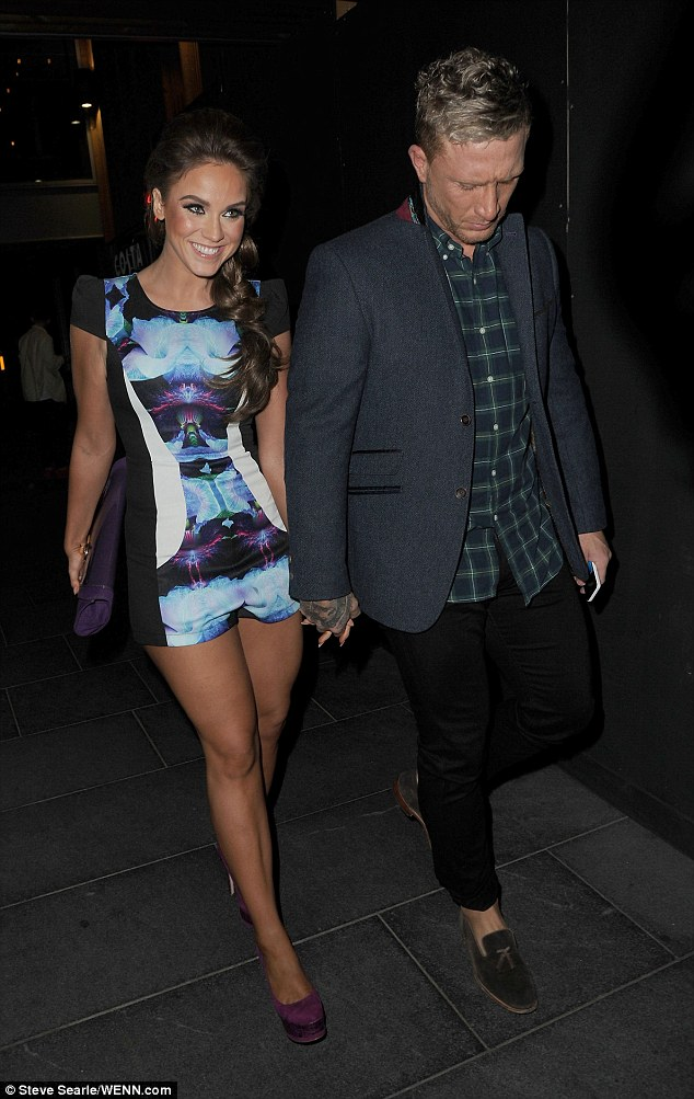 Vicky Pattison With Boyfriend James Morgan Makes The Most