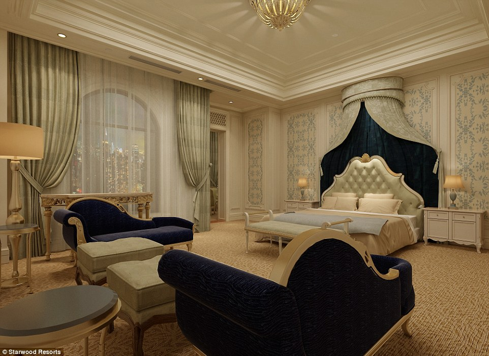 Castle Hotel opens in China boasting a 13kanight suite