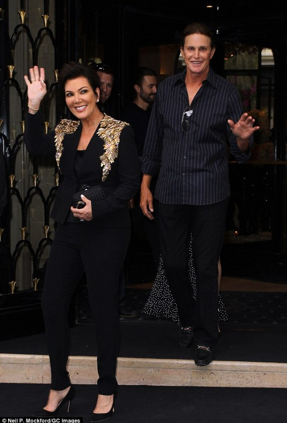 It's over: One year after announcing their separation,Kris Jenner has reportedly filed for divorce from husband Bruce Jenner following their 23-year marriage (pictured in May)