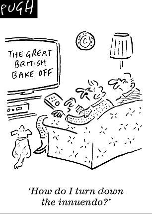 The Great British Bake Off's Sue Perkins denies presenting