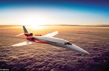 Supersonic: The Aerion AS2  jet will use proprietary supersonic laminar flow technology, flying at 1,217 mph