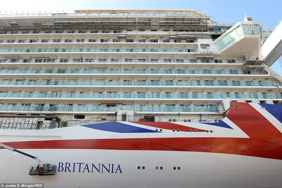 P&O Britannia Sea Trials