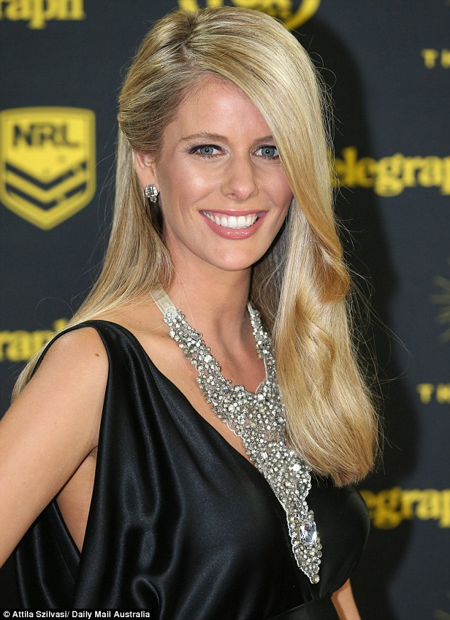 WAGS Brooke Gidley and Vessa Rockliff glow while Fox