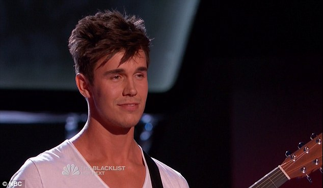 Model looks: John Martin received high praise from the judges