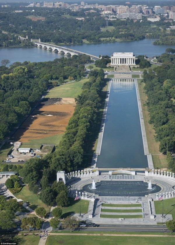 National Mall Washington Face