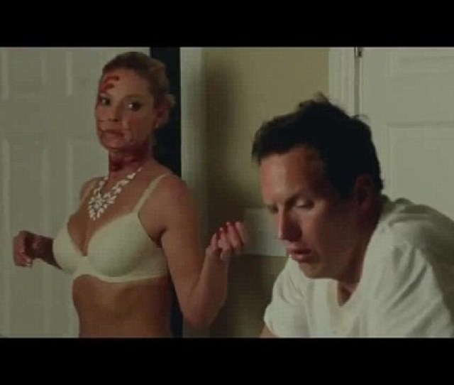 Crazy Sexy Cool Katherine Heigl Strips Down To Her Underwear In The Red