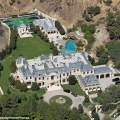 Mark wahlberg s beverly park mansion appears to be finished daily