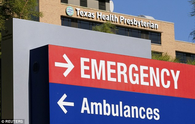 Texas Health Presbyterian Hospital initially sent Duncan home when he showed up in the emergency room. He returned three days later with full-blown symptoms of the disease