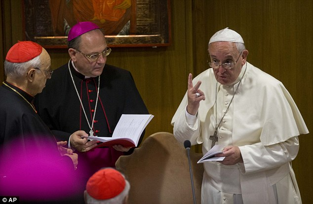 Progressive: The Vatican synod is discussing gay and lesbian issues within the Church for the first time. The move has been described as 'a crack in the ice' by the Catholic gay rights group New Ways Ministry