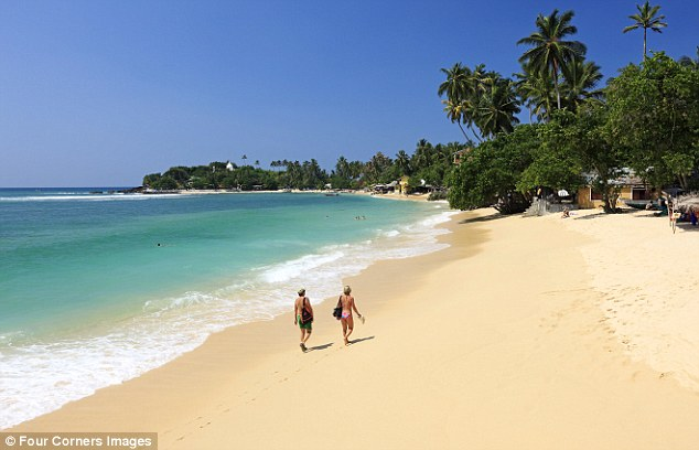 Splendid: The south coast of Sri Lanka has glorious beaches - and has recovered from the tsunami of 2004