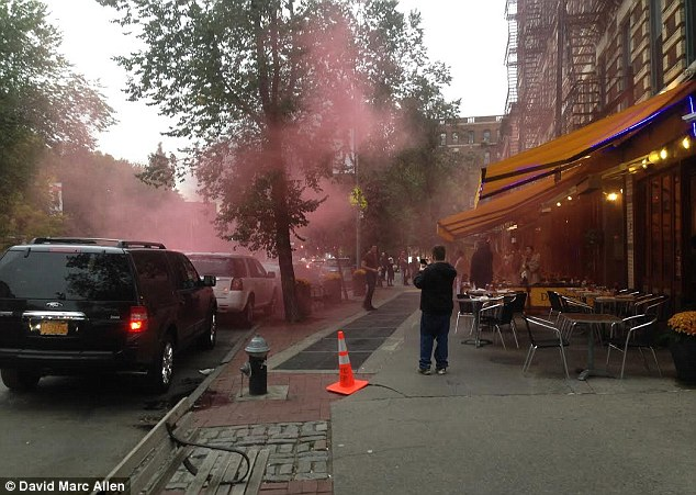 Rose McGowan involved in smoke bomb attack at Bar Pitti in
