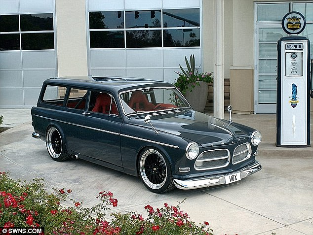 The 1967 Volvo Amazon was modified by Swedish supercar engineers to reach speeds of more than 200mph