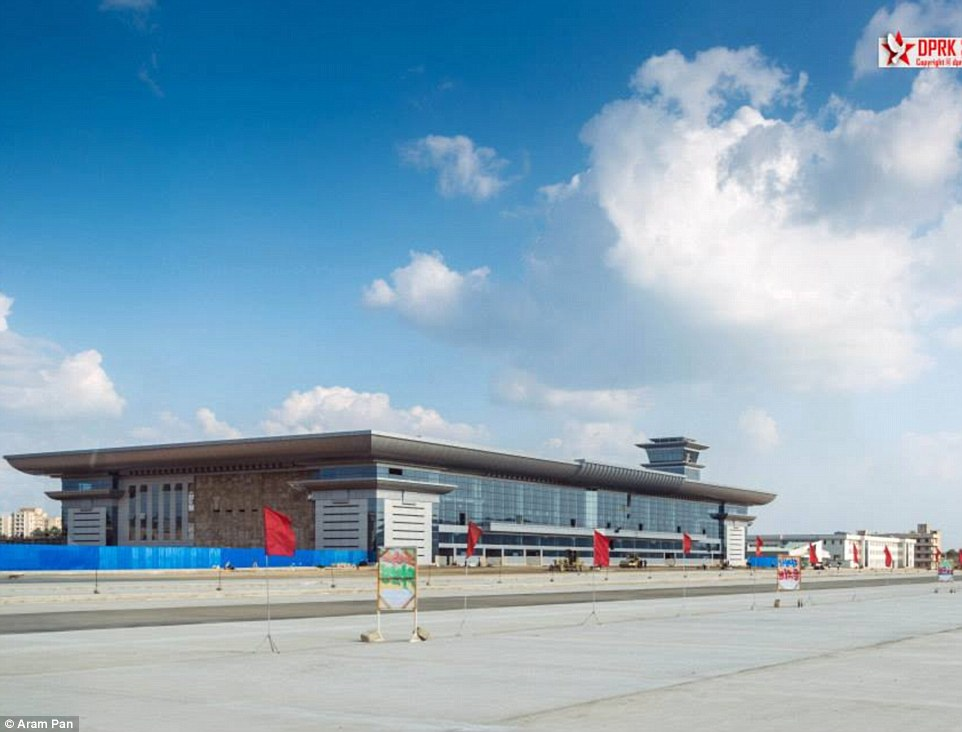 The new modernised Pyongyang International Airport is nearing completion and looks set to open in 2015