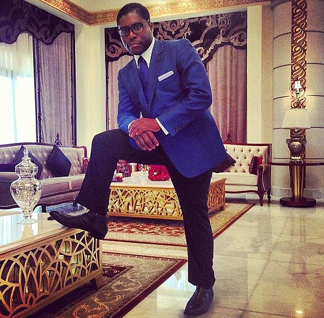 Image result for Teodorin Obiang Nguema, vice-president of Equatorial Guinea